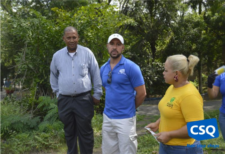 Reforestación en Santo Domingo